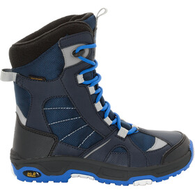 Jack Wolfskin Snow Ride Texapore Boots Children blue/black